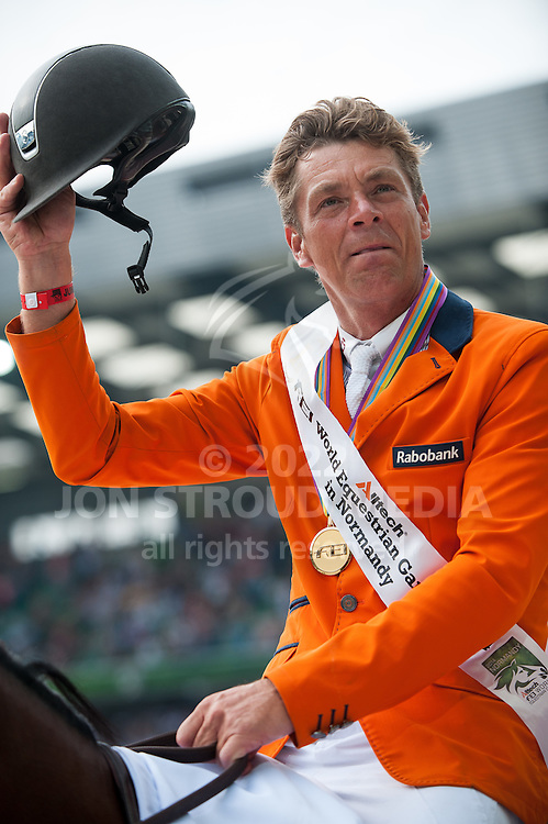 Jeroen Dubbeldam, (NED), Zenith SFN - Show Jumping Final Four - Alltech FEI World Equestrian Games™ 2014 - Normandy, France.<br /> © Hippo Foto Team - Becky Stroud<br /> 07/09/2014