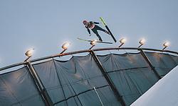 29.02.2020, Salpausselkae Hill, Lahti, FIN, FIS Weltcup Ski Sprung, Herren, Teamspringen, im Bild Philipp Aschenwald (AUT) // Philipp Aschenwald of Austria during the men's team event of FIS Ski Jumping World Cup at the Salpausselkae Hill in Lahti, Finland on 2020/02/29. EXPA Pictures © 2020, PhotoCredit: EXPA/ JFK
