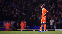 Blackpool's Nathan Delfouneso at the end of the game<br /> <br /> Photographer Chris Vaughan/CameraSport<br /> <br /> The EFL Sky Bet League One - Ipswich Town v Blackpool - Saturday 23rd November 2019 - Portman Road - Ipswich<br /> <br /> World Copyright © 2019 CameraSport. All rights reserved. 43 Linden Ave. Countesthorpe. Leicester. England. LE8 5PG - Tel: +44 (0) 116 277 4147 - admin@camerasport.com - www.camerasport.com