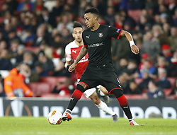 March 14, 2019 - London, England, United Kingdom - Mexer of Rennes.during Europa League Round of 16 2nd Leg  between Arsenal and Rennes at Emirates stadium , London, England on 14 Mar 2019. (Credit Image: © Action Foto Sport/NurPhoto via ZUMA Press)