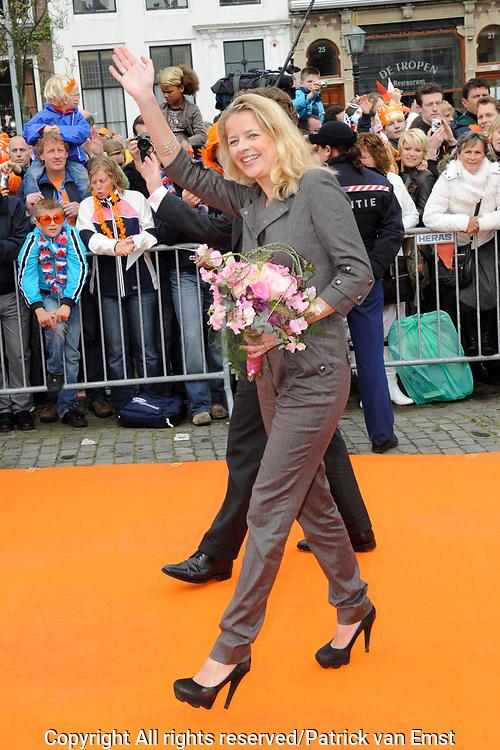 Koninginnedag 2010 . De Koninklijke familie in het zeeuwse  Middelburg. / Queensday 2010. De Royal Family in Middelburg.<br /> <br /> op de foto / on the photo Prinses Mabel