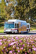 OCTA Bus Parked At Saddleback Community College