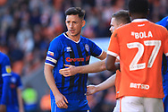 Ian Henderson during the EFL Sky Bet League 1 match between Blackpool and Rochdale at Bloomfield Road, Blackpool, England on 6 October 2018.