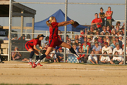 Jenny Finch. 2004 Team USA Olympic Softball Exhibition Game.