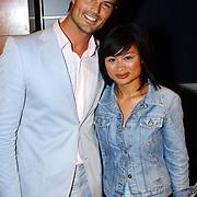 Playboy Night 2004, Arie Boomsma en vriendin Kieu