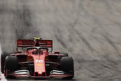 May 11, 2019 - Barcelona, Catalonia, Spain - Charles Leclerc of Monaco driving the (16) Scuderia Ferrari Mission Winnow SF90 during qualifying for the F1 Grand Prix of Spain at Circuit de Barcelona-Catalunya on May 11, 2019 in Barcelona, Spain. (Credit Image: © Jose Breton/NurPhoto via ZUMA Press)
