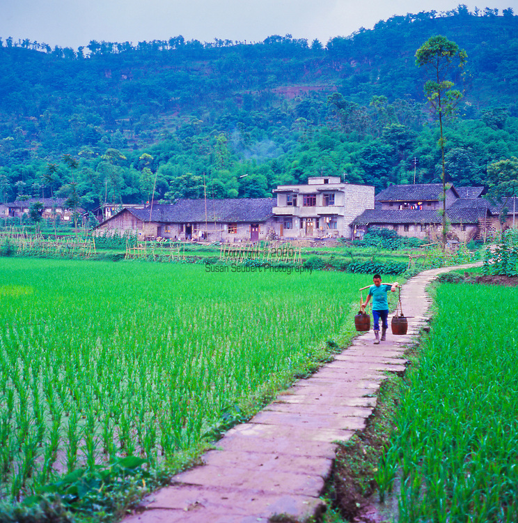 an agricultural area in China