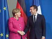 Merkel-Macron Meeting