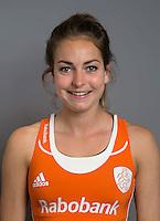 ARNHEM - Eva de Goede. Nederlands Hockeyteam dames voor Wereldkamioenschappen hockey 2014. FOTO KOEN SUYK