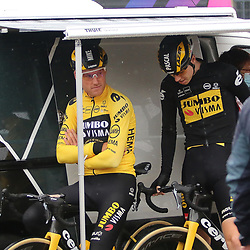 ROUBAIX (FRA): CYCLING: October 3th<br /> Paris-Roubaix men<br /> Mike Teunissen, Pascal Eenkhoorn