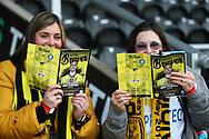 Burton fans during the EFL Sky Bet League 1 match between Burton Albion and Wycombe Wanderers at the Pirelli Stadium, Burton upon Trent, England on 26 December 2018.