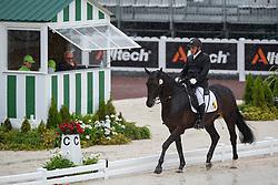 Jose Lorquet, (BEL), Fly Over 0009 - Team Competition Grade Ib Para Dressage - Alltech FEI World Equestrian Games™ 2014 - Normandy, France.<br /> © Hippo Foto Team - Jon Stroud <br /> 25/06/14