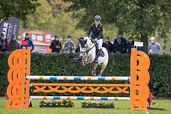 Ceyssens Elise, BEL, Afelio van de Kerkenbulck<br /> Nationaal Kampioenschap LRV Ponies <br /> Lummen 2020<br /> © Hippo Foto - Dirk Caremans<br /> 27/09/2020