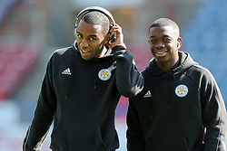 Leicester City's Ricardo Pereira (left) and Nampalys Mendy before the game