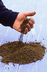 Example of sandy soil