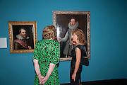 LADY SAINSBURY; DEBRA WEISS, Mark Weiss dinner, Nationaal Portrait Gallery. London. 15 October 2012.