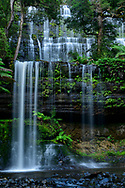 Australia; Australian,  Tasmania; Central Highlands; Mount Field National Park; Russel Falls;