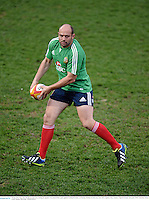 10 June 2013; Rory Best, British & Irish Lions, during the captain's run ahead of their game against Combined Country on Tuesday. British & Irish Lions Tour 2013, Captain's Run, Number 2 Sports Ground, Newcastle, NSW, Australia. Picture credit: Stephen McCarthy / SPORTSFILE