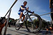 Julian Alaphilippe (FRA - QuickStep - Floors) during the Tour de France 2018, Stage 1, Noirmoutier -en-l'île - Fontenay-le-Comte (201km) on July 7th, 2018 - Photo Luca Bettini / BettiniPhoto / ProSportsImages / DPPI