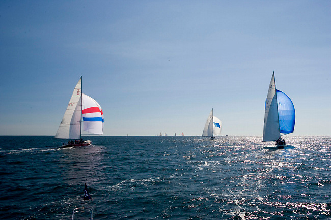 American Eagle, Weatherly, Columbia, Traditional class at the 12 Meter Class North American Championship