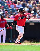 MLB-Los Angeles Angels at Cleveland Indians-Aug 4, 2019