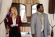 TABLE 19, FROM LEFT, LISA KUDROW, CRAIG ROBINSON, 2017. PH: JACE DOWNS. TM & COPYRIGHT ©FOX SEARCHLIGHT PICTURES. ALL RIGHTS RESERVED