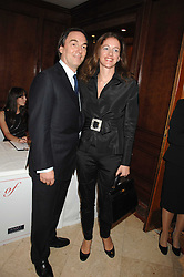 ALAN PARKER and JANE HARDMAN at a party to celebrate the 180th Anniversary of The Spectator magazine, held at the Hyatt Regency London - The Churchill, 30 Portman Square, London on 7th May 2008.<br /><br />NON EXCLUSIVE - WORLD RIGHTS
