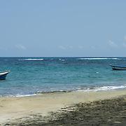 Central America, Centro America, Latin America, Latin, tropical, Costa Rica, Puerto Viejo, Caribbean, Manzanillo Wildlife Refuge, Manzanillo, Inviting beach in the Manzanillo Wildlife Refuge, Costa Rica.