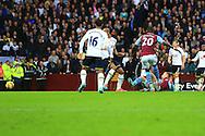 Andreas Weimann of Aston Villa scores the opening goal - Aston Villa vs. Tottenham Hotspurs - Barclay's Premier League - Villa Park - Birmingham - 02/11/2014 Pic Philip Oldham/Sportimage