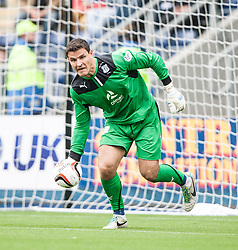 Dundee's keeper Kyle Letheren.<br /> Falkirk 3 v 1 Dundee, 21/9/2013.<br /> ©Michael Schofield.