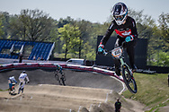 #66 (PALMER James) CAN at the 2016 UCI BMX Supercross World Cup in Papendal, The Netherlands.