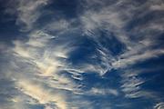 USA, Oregon, Keizer, sunset sky.