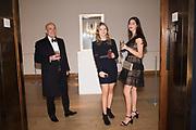 RICHARD GIROUARD, OLIVIA FOUND, YASMIN ALIKHANI, The George Michael Collection drinks.  Christie's, King St. London, 12 March 2019