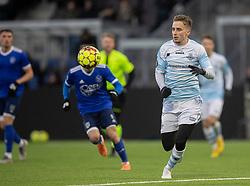 Lucas Haren (FC Helsingør) under træningskampen mellem FC Helsingør og Fremad Amager den 18. januar 2020 på Helsingør Ny Stadion (Foto: Claus Birch)
