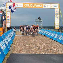 22-08-2020: Wielrennen: NK vrouwen: Drijber<br /> Passage Col du Vam