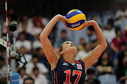 25-08-2010 VOLLEYBAL: WGP FINAL USA - POLAND: BEILUN NINGBO<br /> Mary Spicer<br /> ©2010-WWW.FOTOHOOGENDOORN.NL