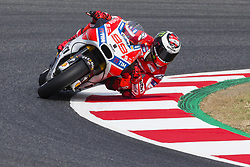 June 9, 2017 - Barcelona, Catalonia, Spain - MotoGP - Jorge Lorenzo(Spa), Ducati Team during the MotoGp Grand Prix Monster Energy of Catalunya, in Barcelona-Catalunya Circuit, Barcelona on 9th June 2017 in Barcelona, Spain. (Credit Image: © Urbanandsport/NurPhoto via ZUMA Press)