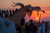 Abraxas Dragon at Sunrise