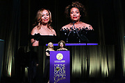 NEW YORK, NEW YORK- FEBRUARY 11: (L-R) Cheryl McKissack Daniel (Honoree) and Deryl McKissack (Honoree)  attend the National CARES Mentoring Movement 'FOR THE LOVE OF OUR CHILDREN' Gala Inside held at the Zeigfeld Ballroom on February 11, 2019 in New York City.  (Photo by Terrence Jennings/terrencejennings.com)