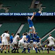 Londra 13/02/2021, Twickenham Stadium<br /> Guinness Six Nations 2021<br /> Inghilterra vs Italia <br /> David Sisi