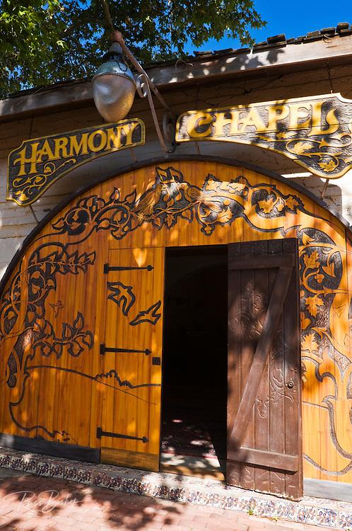 The Harmony Chapel, Harmony, California
