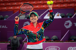 February 13, 2019 - Doha, QATAR - Elina Svitolina of the Ukraine in action during the second round at the 2019 Qatar Total Open WTA Premier tennis tournament (Credit Image: © AFP7 via ZUMA Wire)