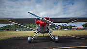 1947 Luscombe 8E at Wings and Wheels at Oregon Aviation Historical Society.