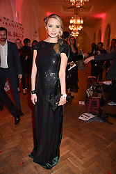 Noelle Reno at the Floral Ball in aid of Sheba Medical Center hosted by Laura Pradelska and Zoe Hardman and held at One Marylebone, 1 Marylebone Road, London England. 14 March 2017.