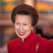 HRH Princess Royal opens the landmark Jolomo Exhibition at the Mitchell Library. Picture Robert Perry for Mail on Sunday 19th Nov 2015<br /> <br /> Must credit photo to Robert Perry<br /> FEE PAYABLE FOR REPRO USE<br /> FEE PAYABLE FOR ALL INTERNET USE<br /> www.robertperry.co.uk<br /> NB -This image is not to be distributed without the prior consent of the copyright holder.<br /> in using this image you agree to abide by terms and conditions as stated in this caption.<br /> All monies payable to Robert Perry<br /> <br /> (PLEASE DO NOT REMOVE THIS CAPTION)<br /> This image is intended for Editorial use (e.g. news). Any commercial or promotional use requires additional clearance. <br /> Copyright 2014 All rights protected.<br /> first use only<br /> contact details<br /> Robert Perry     <br /> 07702 631 477<br /> robertperryphotos@gmail.com<br /> no internet usage without prior consent.         <br /> Robert Perry reserves the right to pursue unauthorised use of this image . If you violate my intellectual property you may be liable for  damages, loss of income, and profits you derive from the use of this image.