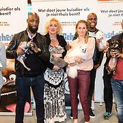 NLD/Amsterdam/20160603 - Onthulling stemmencast Huisdiergeheimen, cast