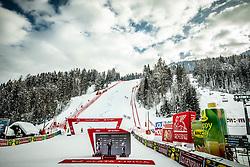Trophy ceremony during 2nd Run of Ladies' Giant Slalom at 57th Golden Fox event at Audi FIS Ski World Cup 2020/21, on January 17, 2021 in Podkoren, Kranjska Gora, Slovenia. Photo by Vid Ponikvar / Sportida