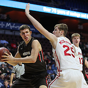 Travis Fuller, Brwon, in action during the Marist vs Brown Men's College Basketball game in the Hall of Fame Shootout Tournament at Mohegan Sun Arena, Uncasville, Connecticut, USA. 22nd December 2015. Photo Tim Clayton