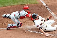 20110807 - Philadelphia Phillies at San Francisco Giants (MLB Baseball)