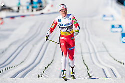 March 10, 2019 - Oslo, NORWAY - 190310 Ragnhild Haga of Norway looks dejected after the women's 30 km classic technique mass start during the FIS World Cup on March 10, 2019 in Oslo..Photo: Jon Olav Nesvold / BILDBYRÃ…N / kod JE / 160424 (Credit Image: © Jon Olav Nesvold/Bildbyran via ZUMA Press)